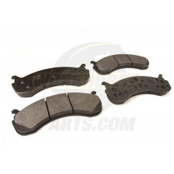 W8810906-US - High Performance W20 & W22 Brake Pad Set (Carbon Metallic)