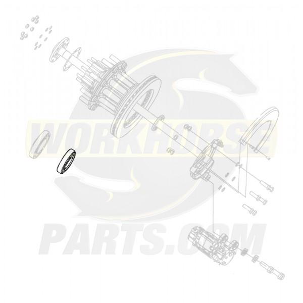 00457439  -  Bearing Asm - Rear Wheel