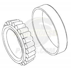 W8810214  -  Front Wheel Inner Bearing (I-Beam)