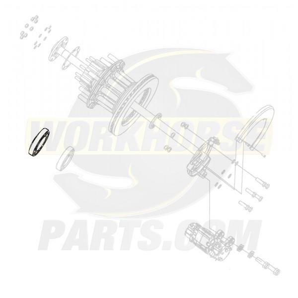 W8810910  -  Bearing - Rear Wheel Outer