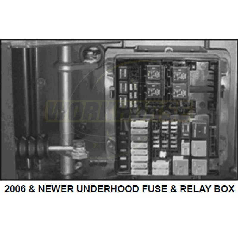 13886538 - 2006+ W-Series Fuse/Relay Box Cover - Workhorse Parts | Workhorse Fuse Box |  | Workhorse Parts