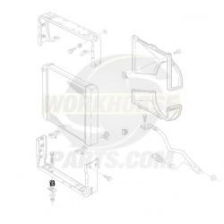 14044083  -  Insulator Asm - Radiator Lower Mounting Bracket