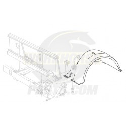 15708102  -  Panel Asm - Front Wheel House, RH