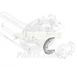 15977610  -  Shield - Front Brake Wheel Speed Sensor