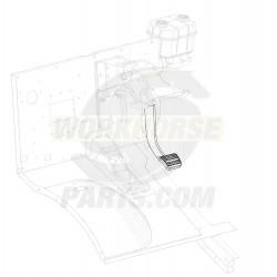 W0002210  -  Brake Pedal Asm