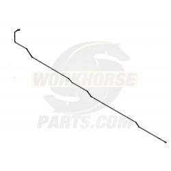 W0004351  -  Pipe Asm - Park Brake Pump Front
