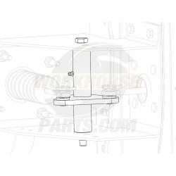 W0009859  -  Lever Asm - Brake Pedal Rod
