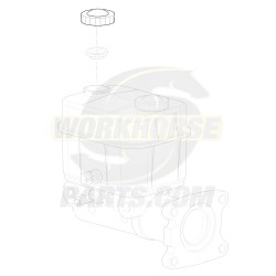 W8000129  -  Cap - Brake Master Cylinder Fluid Reservoir