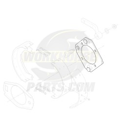 W8000229  -  Backing Plate Asm