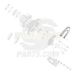 W8001170  -  Dust Shield- Disk Brake