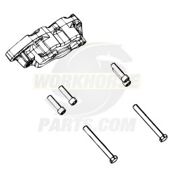 W8002401  -  Kit - Caliper Screws for 1 Caliper (68mm Brembo)