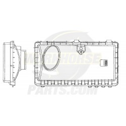 W0013391  -  Cover - Air Cleaner