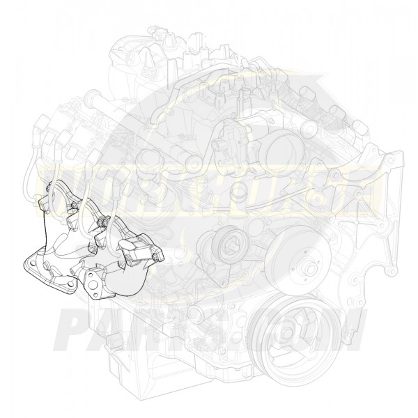 12612391  -  Manifold Asm - Exhaust Right Hand