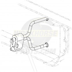 15035401  -  Hanger Asm - Exhaust Rear