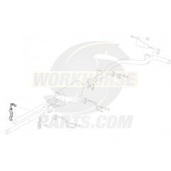 15986365  -  Hanger Asm- Exhaust Pipe