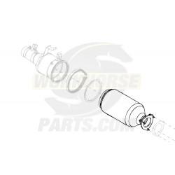2595055C91  -  Diesel Particulate Filter Asm - V-Ring to Flange