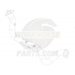 W0013877  -  Pipe Asm - Exhaust Manifold Left Hand