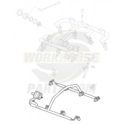 12574978  -  Kit - Fuel Injector Harness (8.1L)