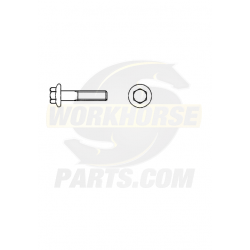 W9000032  -  Wiper Module Bolt-hex Flg  M6x1x20 Cl