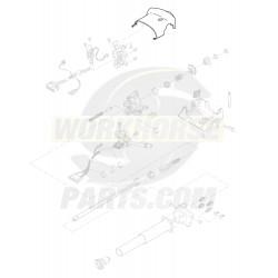 26038797  -  Shroud - Upper Steering Column