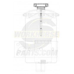 W8001426  -  Power Steering Reservoir Cap And Dipstick Asm