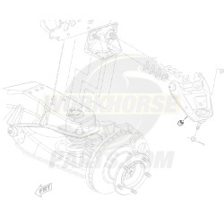 03773361  -  Bumper - Upper Control Arm