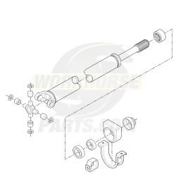 15713345  -  Propshaft Asm - Front (890.5MM)