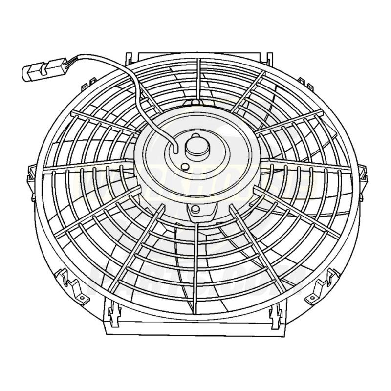 w8000087 workhorse electric condenser fan Electric Radiator Fan Wiring
