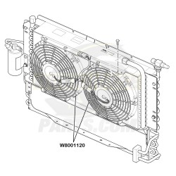 W8001120 - Electric A/c Fan (Sold Individually)