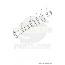 00273487  -  Cap-valve W/strn