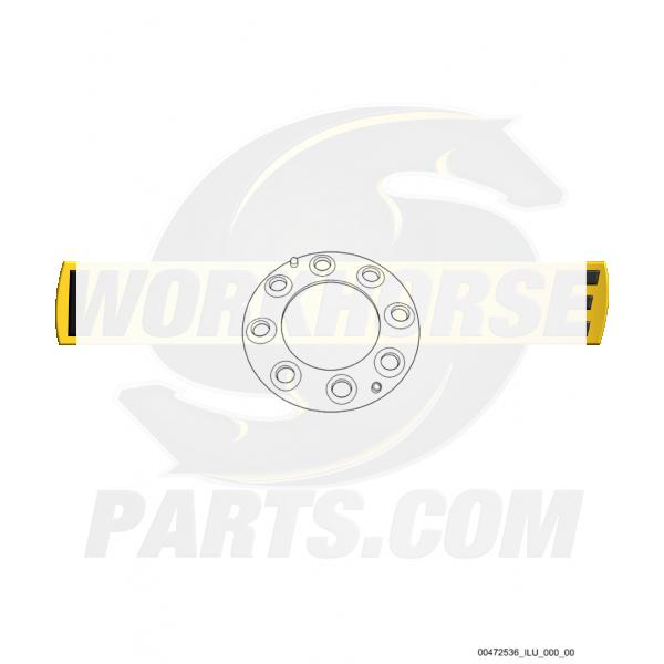 00472536  -  Ring Asm - Wheel Clamp