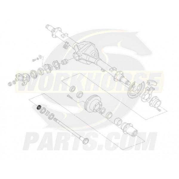 00473628  -  Retainer - Rear Wheel Bearing Washer