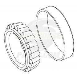 W8007137  -  Rear Wheel Inner Bearing