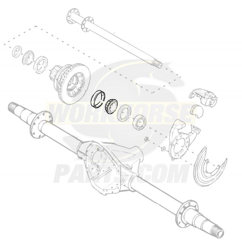 1996-2005 Workhorse/GM P32 Brake Job Kit - Workhorse Parts