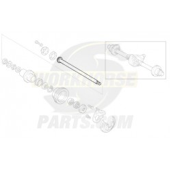 12389923  -  Shaft - Rear Axle