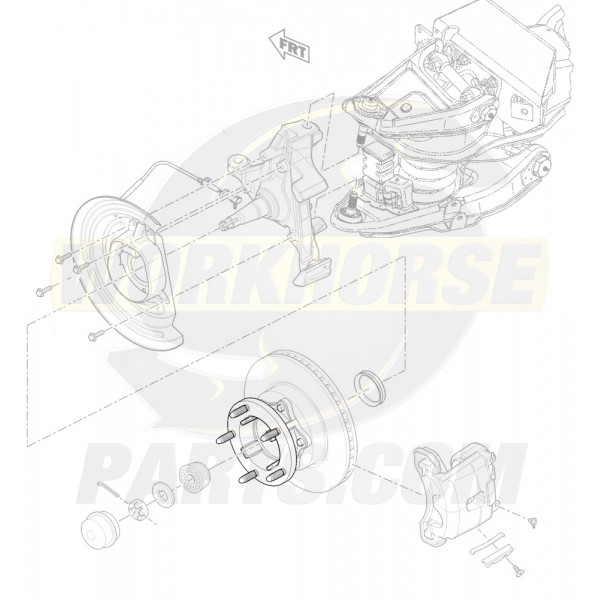 15024279 - Front Wheel Hub (P32)