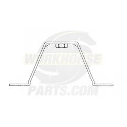 W0004592  -  Bracket - Rear Wheel Cover
