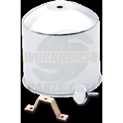 W0004595  -  Kit - Rear Hub Cover, Aluminum Wheel, 8 Hole (Alcoa)