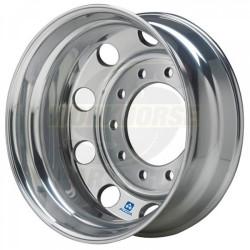 W0009567  -  Rear Wheel - Aluminum, 22.5 x 7.5, Offset 6.28, 8 Hole (Inside Polished)