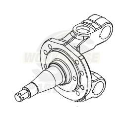 W8000019  -  Knuckle Asm - Steering, Left Hand