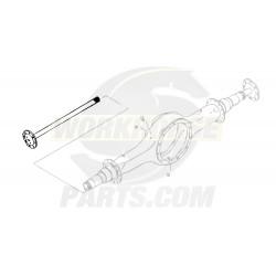 W8000116  -  Shaft Rear Axle