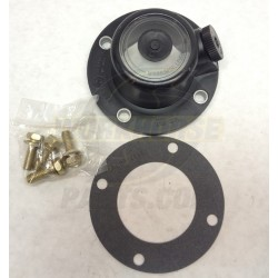 W8000124 - Front Axle Hub Cap Asm (includes Gasket & Mounting Screws)