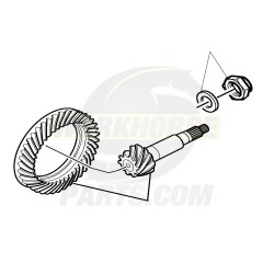 W8000501  -  Gear Set - Differential Ring & Drive Pinion (4.63 Ratio)
