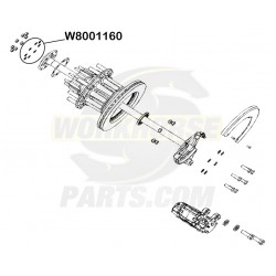 W8001160 - Rear Axle Shaft Cone Spacer