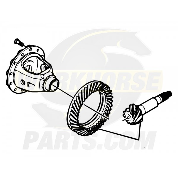W8001501  -  Gear Set - Differential Ring & Drive Pinion (5.13 Ratio)