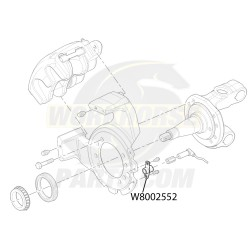 W8002552  - Bracket - ABS Speed Sensor