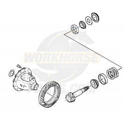 W8003342  -  Kit - Ring Gear & Pinion (With Shims & Bearings) (M80 5.13 Ratio)