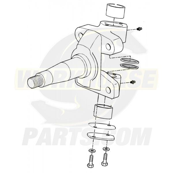 W8005660  -  Kit - Steering Knuckle (RH & LH)