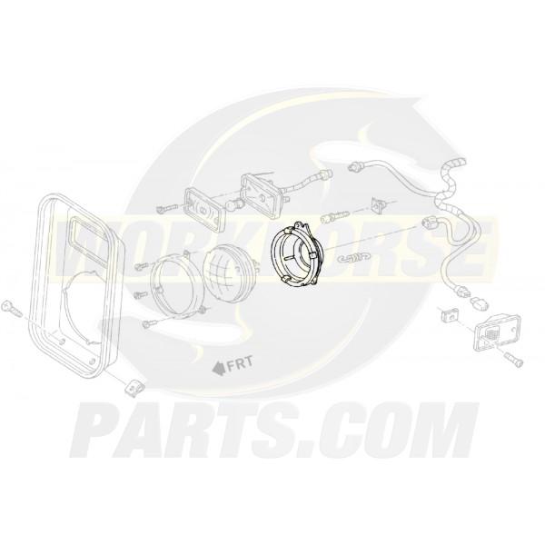 00924535  -  Ring - Headlamp Body Inner Mount