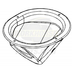15721344 - Fuel Filler Dish (metal)